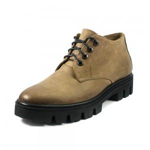 Ботинки демисез женск TUTTO SHOES T5027 коричневая кожа