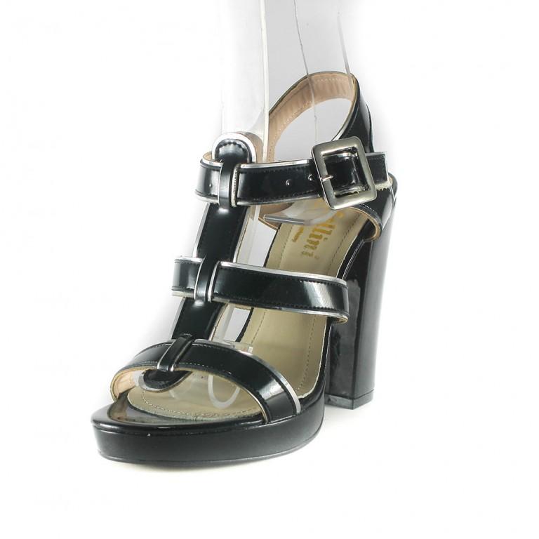 Босоножки женские Rovigo-Rifellini R813-AA-103 -черные