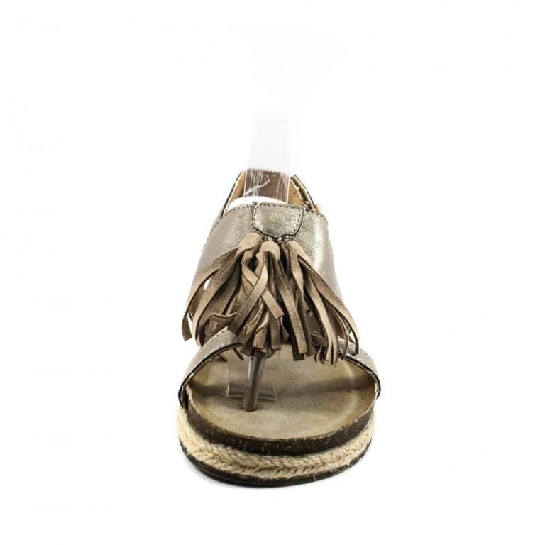 Босоножки женские Prima D'arte HR-17HQF1720-16 серый