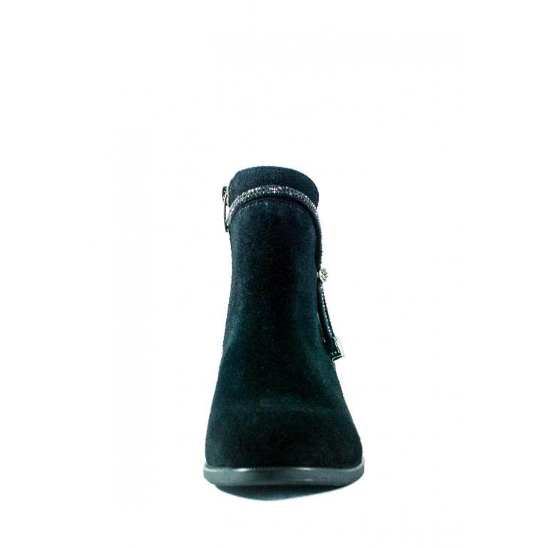 Ботинки демисезон женские Sana 341 чз черные