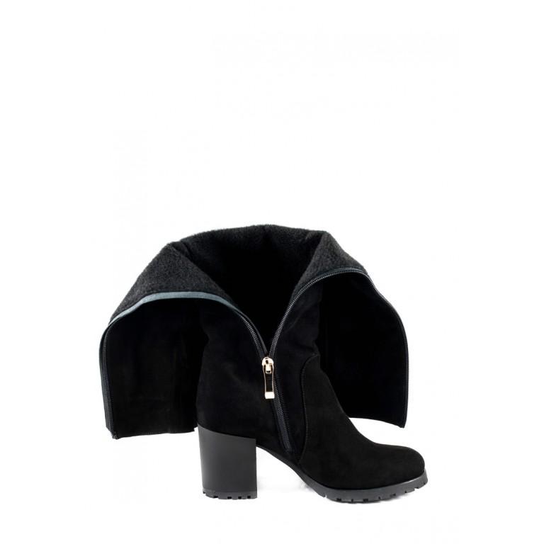 Сапоги зимние женские MIDA 24908-17Ш черные