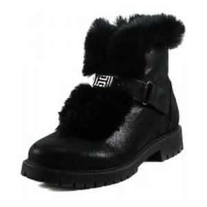 Ботинки зимние подросток MIDA 34163-392Ш черные