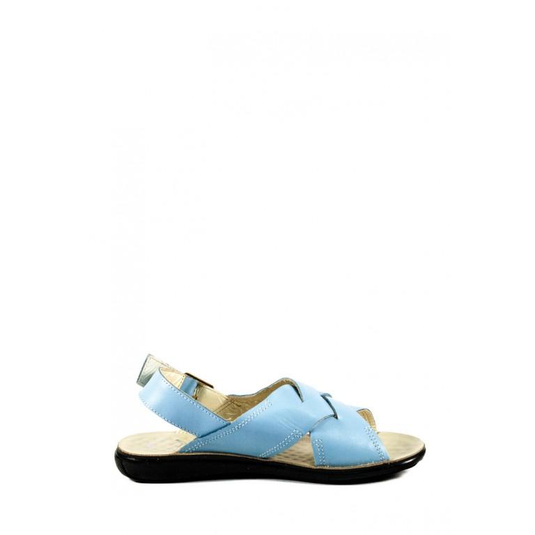 Босоножки женские TiBet 202-02-3 голубые