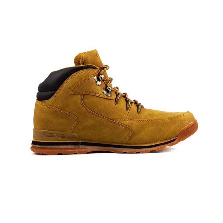 Ботинки зимние мужские Restime KMZ18356 кэмел