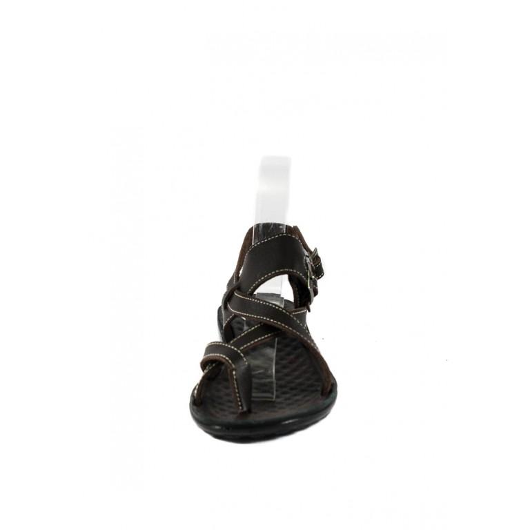 Сандалии женские TiBet 77 темно-коричневые