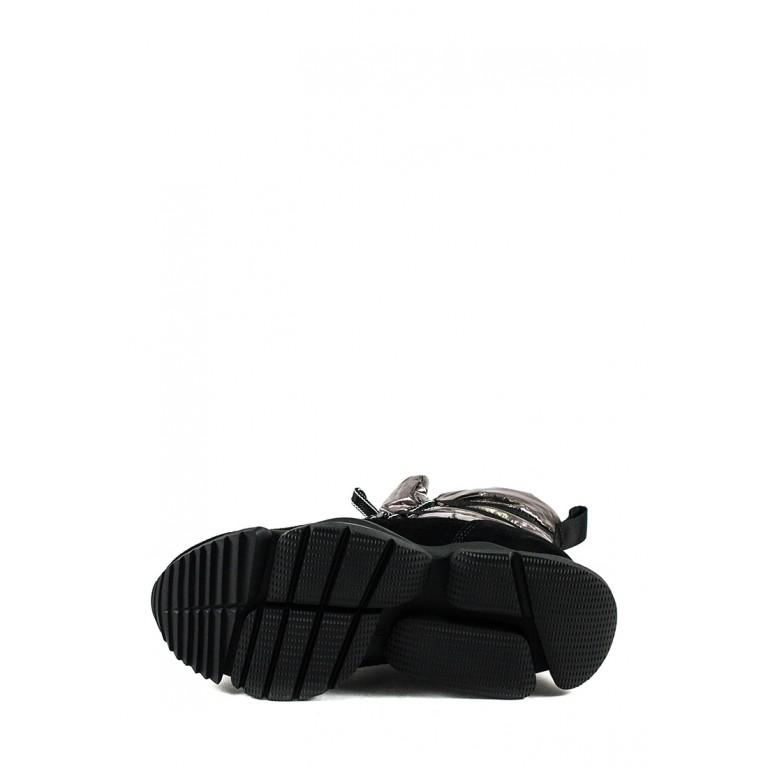 Ботинки зимние женские Lonza 1552-Z080 металлик