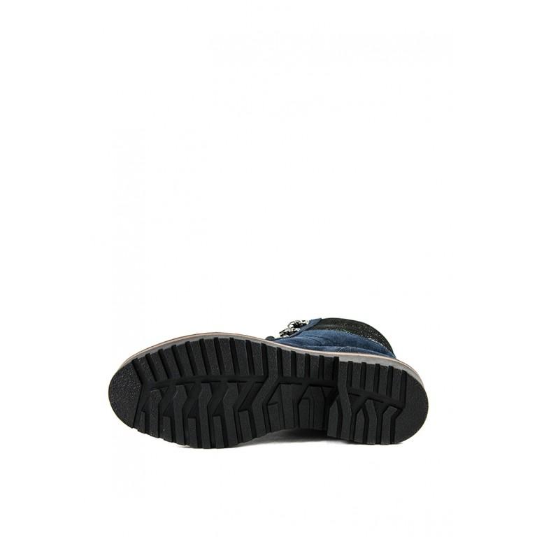 Ботинки зимние женские MIDA 24833-250Ш синие