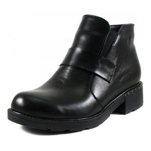 [:ru]Ботинки демисезон женские SND SDAZ-J14 чёрная кожа[:uk]Черевики демісезон жіночі SND чорний 17435[:]