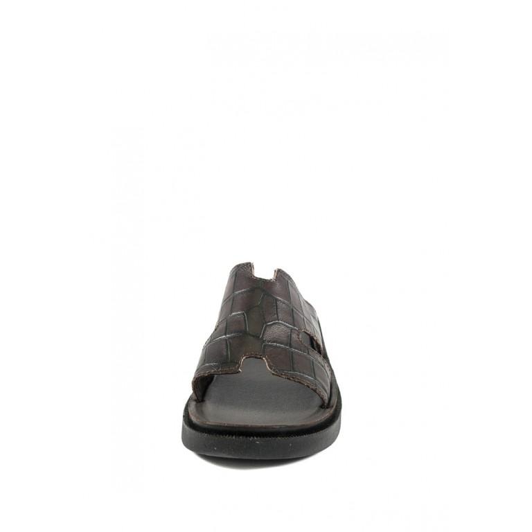 Шлепанцы мужские TiBet 10-03-58 коричневые