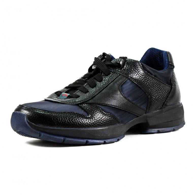 Кроссовки мужские MIDA 110922-16 черно-синие