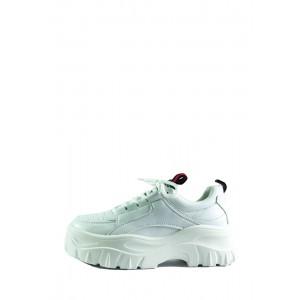 Кроссовки демисезон женские Lonza 50179 белые