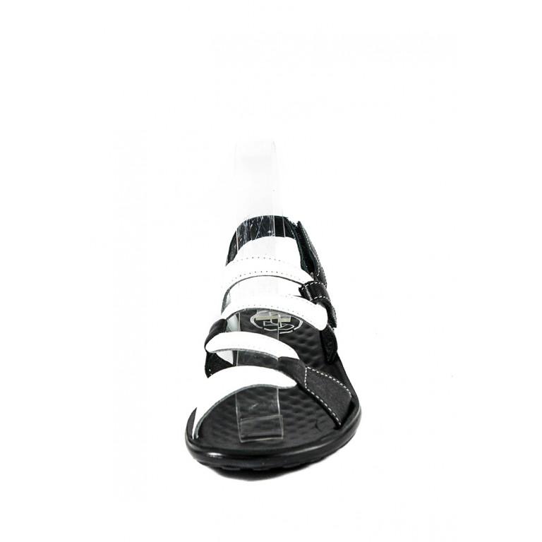 Босоножки женские TiBet 239-02-08-01 черно-белые