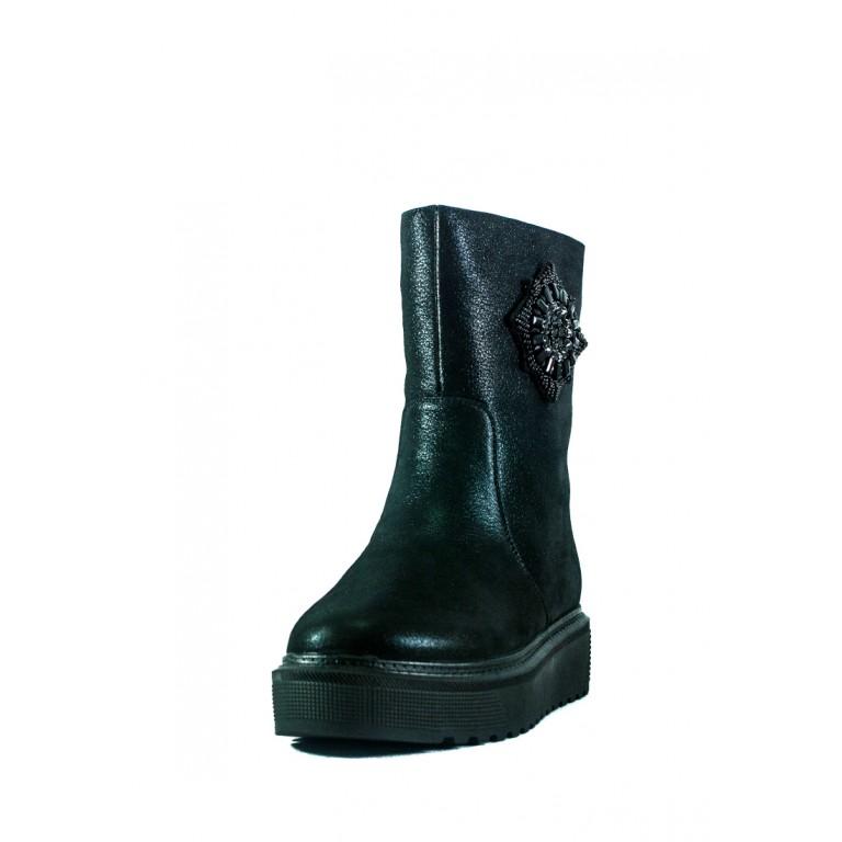 Ботинки зимние женские Fabio Monelli СФ L2026-D15-B52-JZ черные