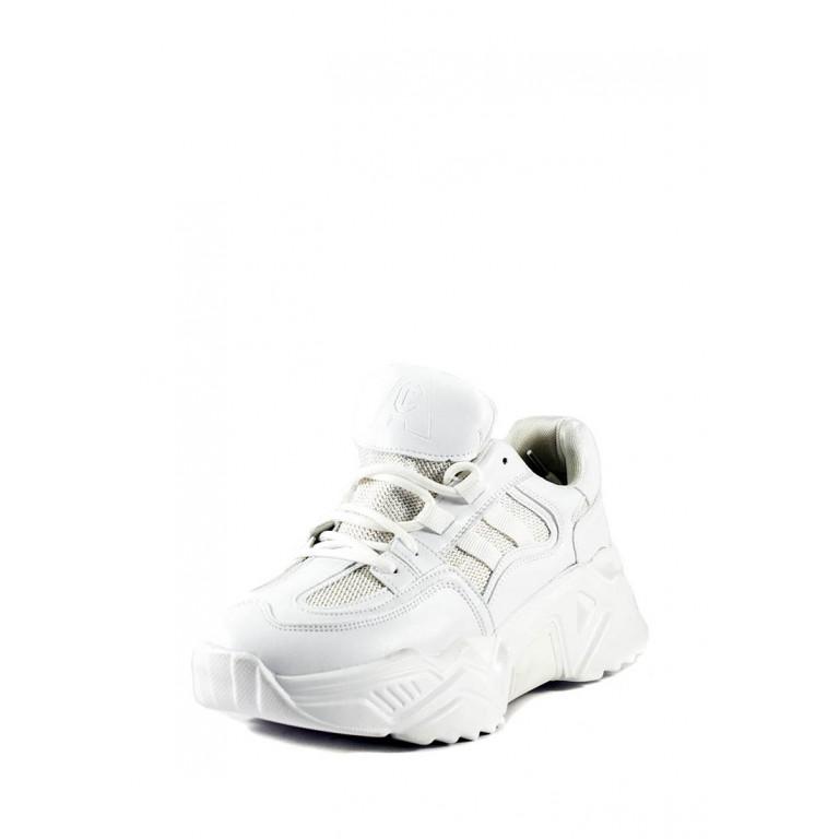 Кроссовки демисезон женские Allshoes 119-19223-27 белые
