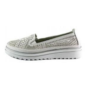 Мокасины женские Allshoes L1880 белые