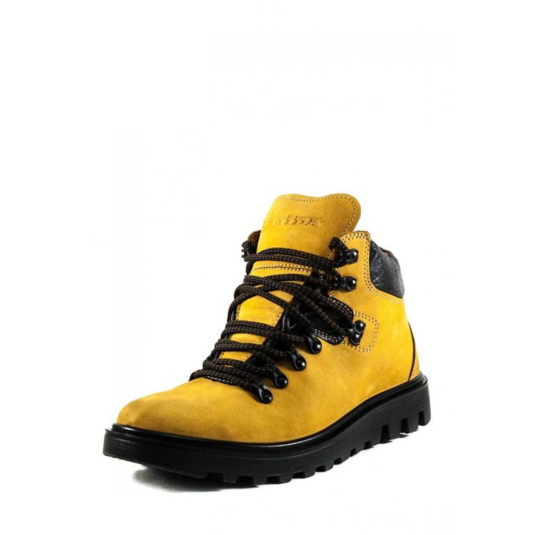 Ботинки зимние мужские MIDA 14390-213М горчичные
