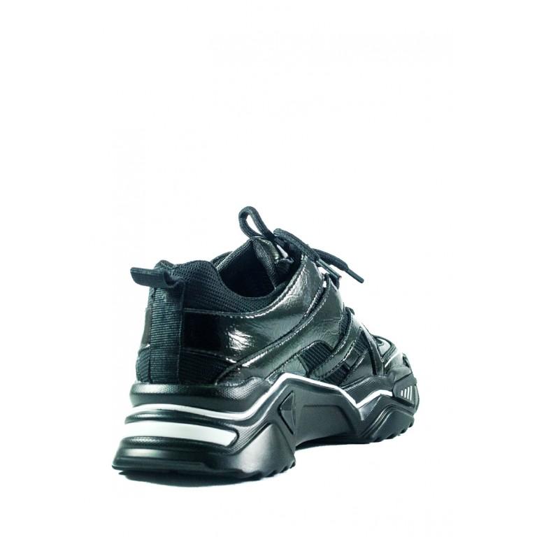 Кроссовки демисезон женские Lonza ZZ906-6 черные