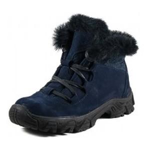 Ботинки зимние женские MIDA 24641-12Ш синие