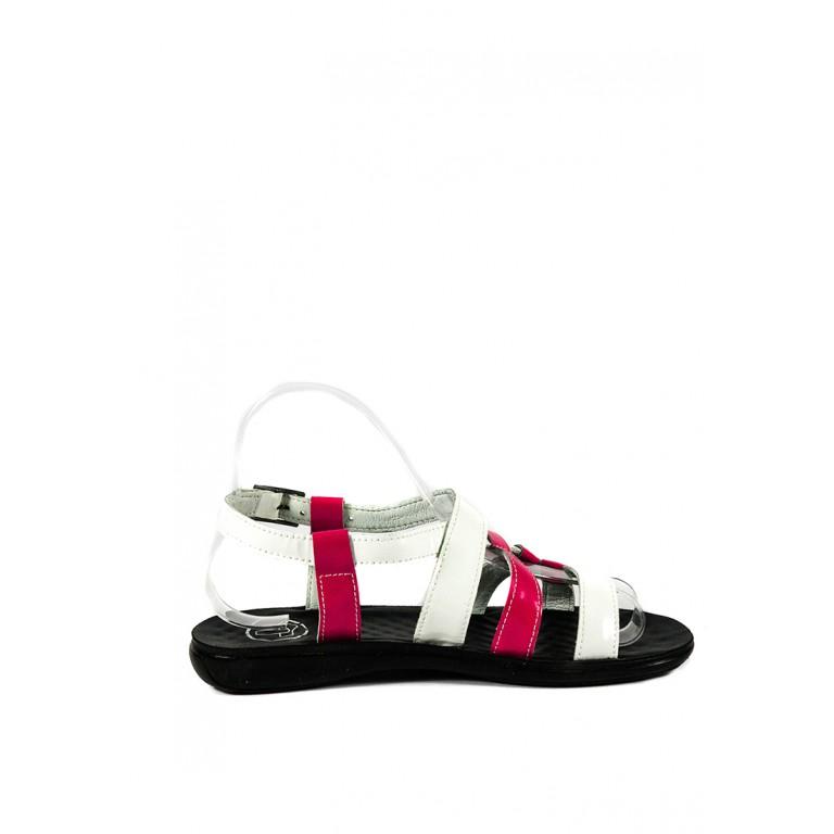 Сандалии женские TiBet 260 бело-розовые