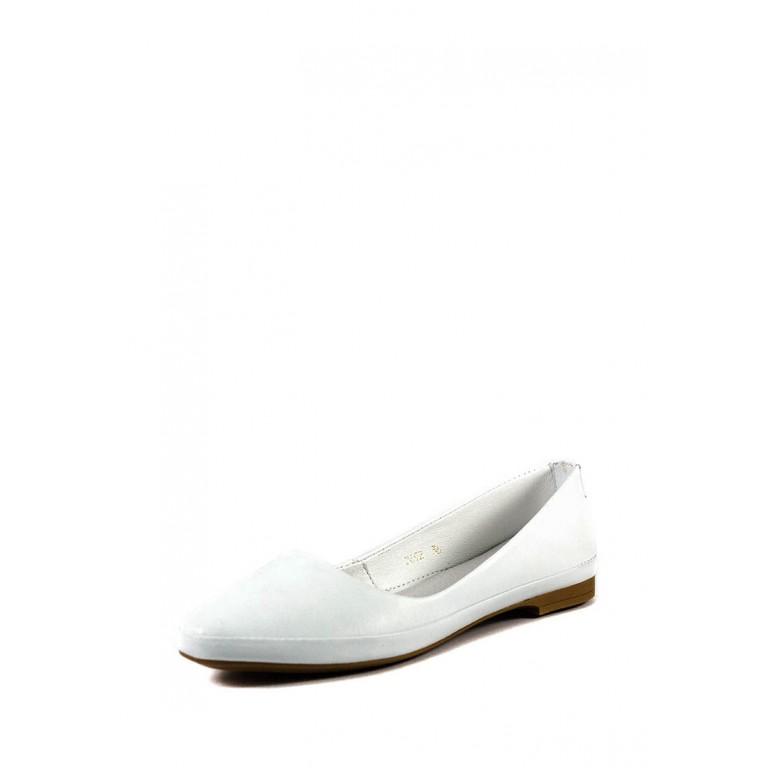 Балетки женские летние SND 12692-1 белый