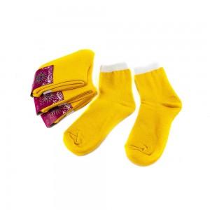 Носки женские Рубеж-Текс 100 желтые 36-39