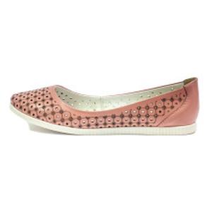 [:ru]Балетки женские SND SDTM1991 розовая кожа[:uk]Балетки жіночі SND рожевий 11396[:]