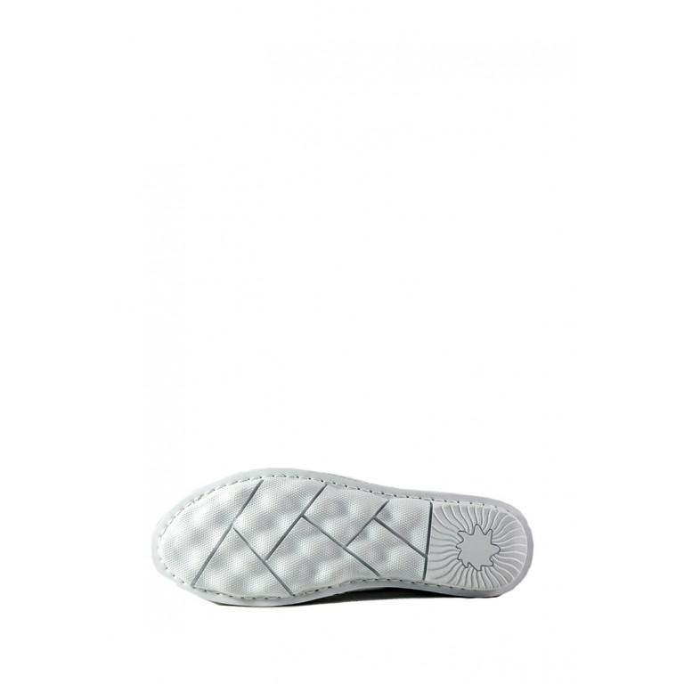 Мокасины женские Allshoes 87359 белые