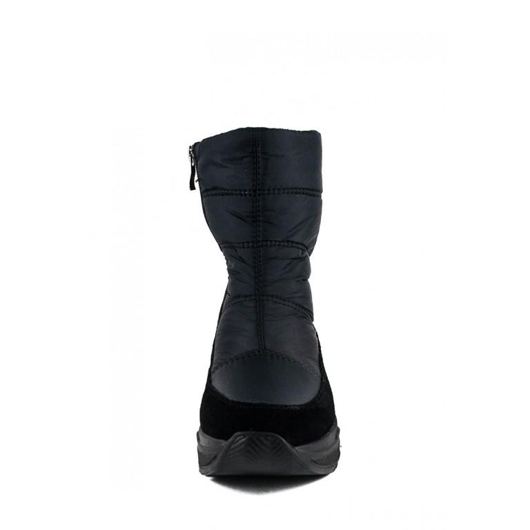 Ботинки зимние женские Lonza 6790-N560 черные