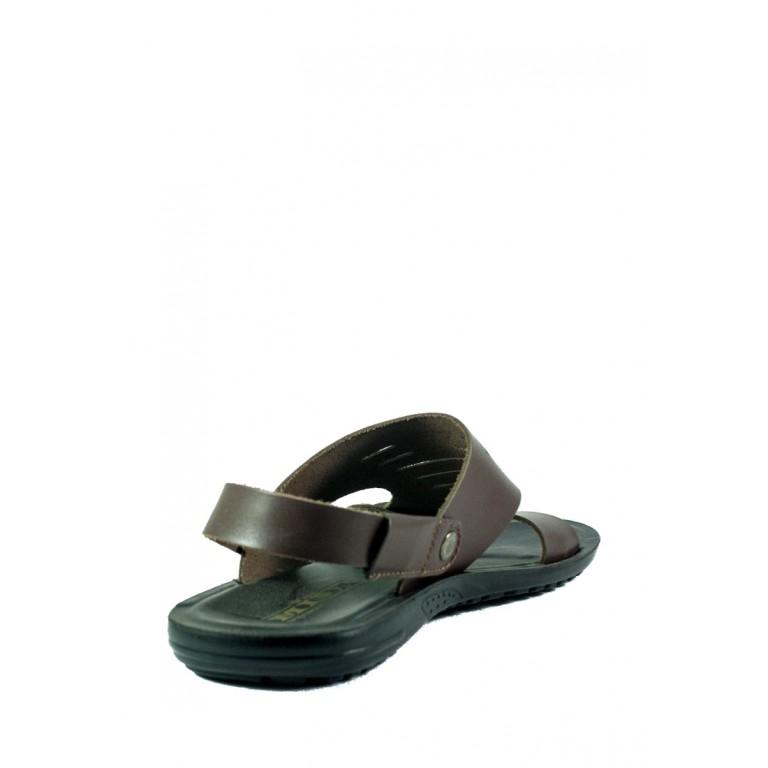 Сандалии мужские MIDA 13184-2 темно-коричневые