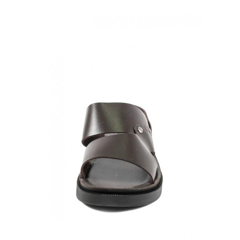 Сандалии мужские TiBet 12-03-02 темно-коричневые