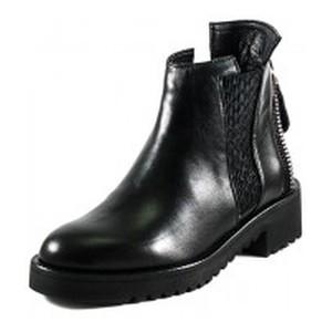 Ботинки демисезон женские Lonza 21862-2122L черная кожа