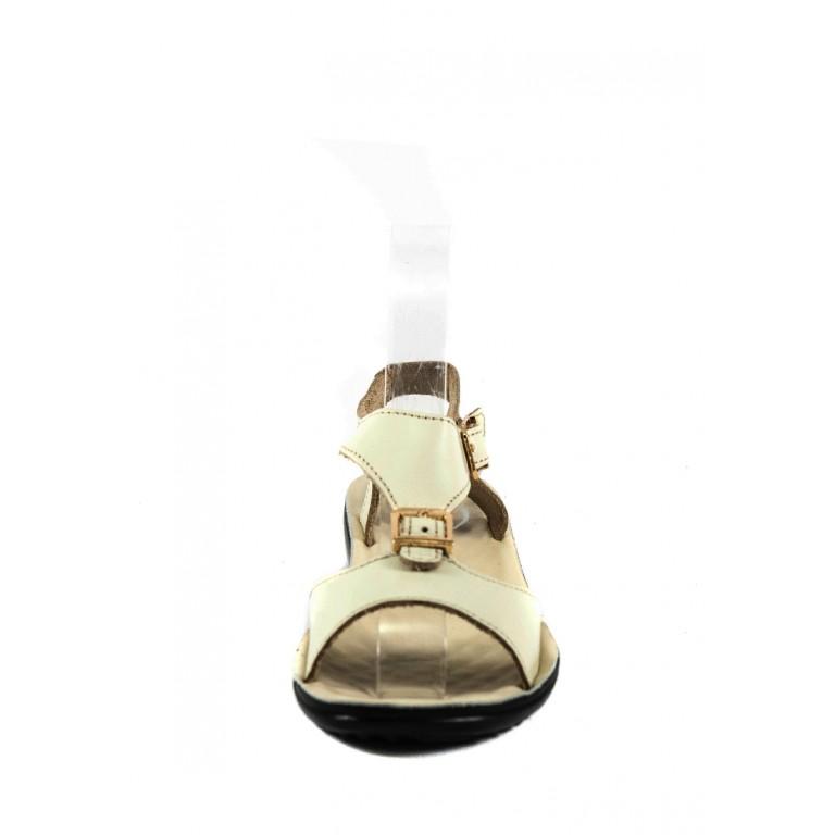 Сандалии женские TiBet 492-03-09 кремовые