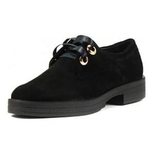 Туфли женские MIDA 21802-17 черная замша