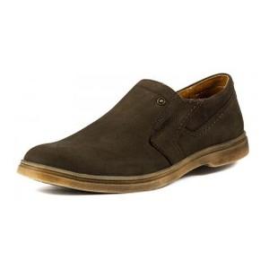 Туфли мужские MIDA 110660-82 коричневый нубук