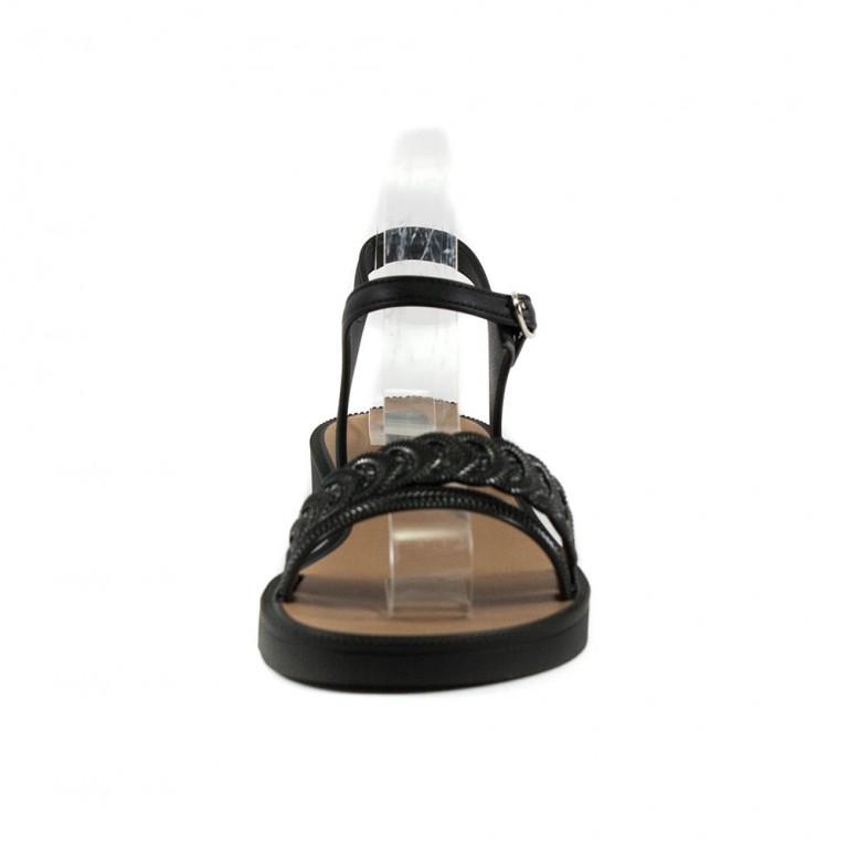 Босоножки женские Grendha 17723-90168 черно-серый
