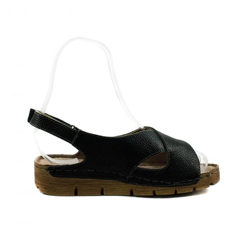 Босоножки женские летние Allshoes 6232 черные