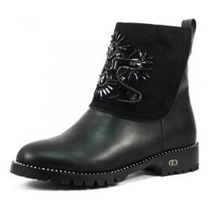 Ботинки демисезон женские Prima D'arte AM16160-C221 черный