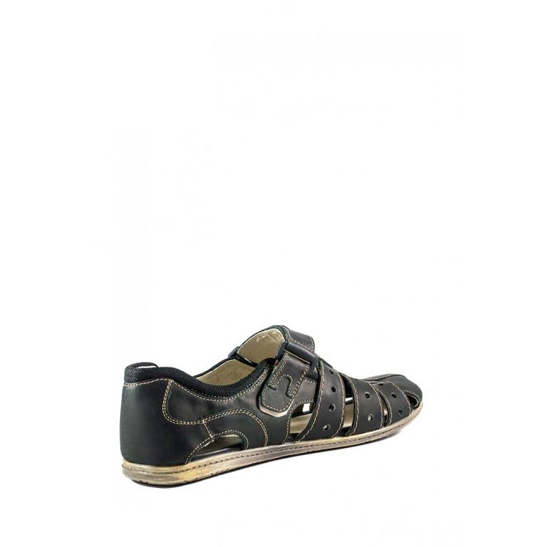 Сандали мужские MIDA 13353-3 темно-коричневые