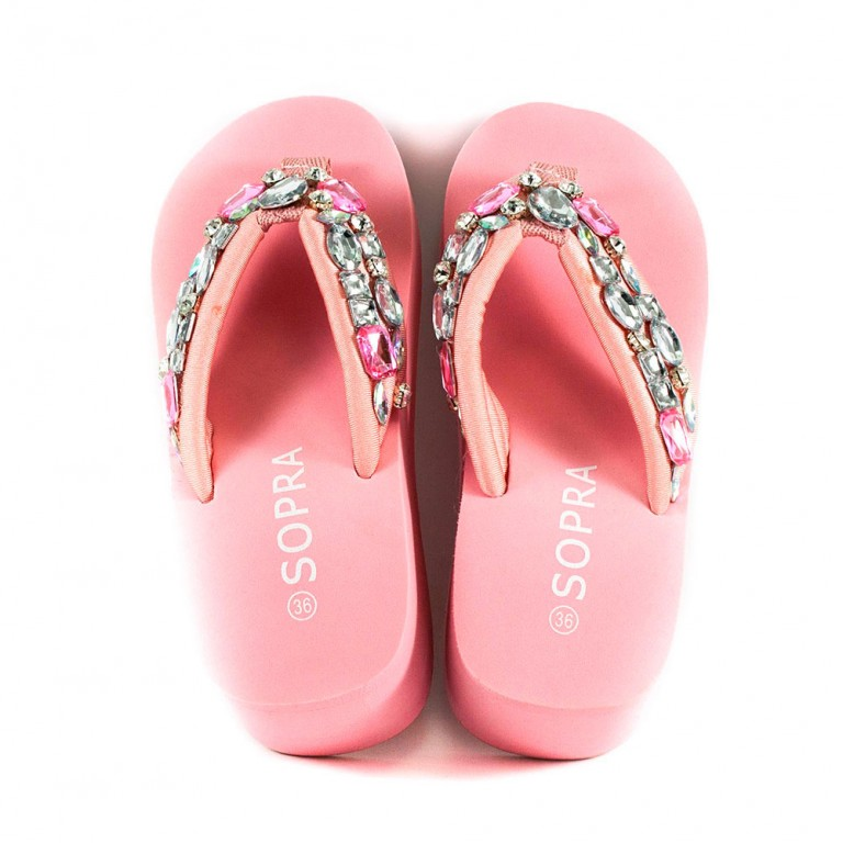Вьетнамки женские Sopra 10025 розовые