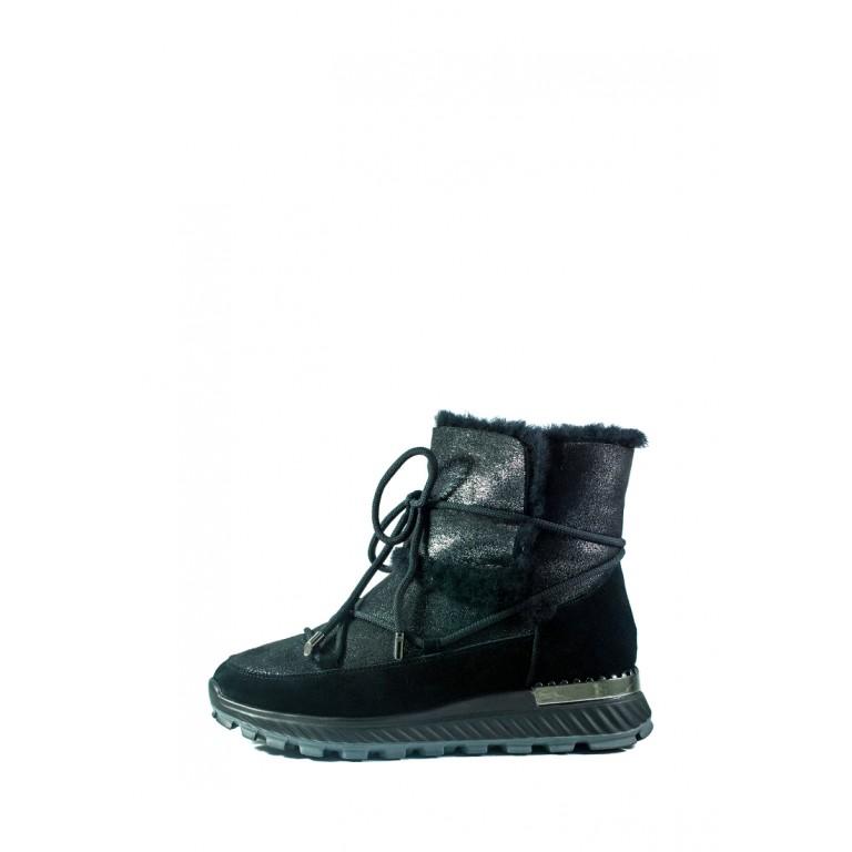 Ботинки зимние женские Allshoes СФ 605-PX386M-67-1 черные