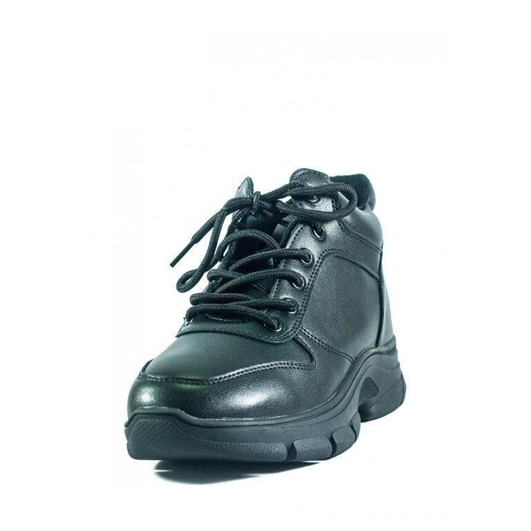 Ботинки демисезон женские Lonza 2056  черные
