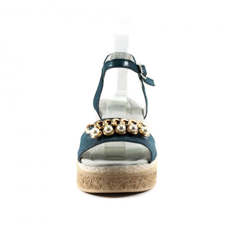 Босоножки женские Camelfo 60-1 синий