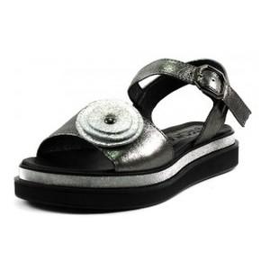 [:ru]Босоножки женские Teona 124 черно-серебряные[:uk]Босоніжки жіночі літні Teona чорний 16892[:]