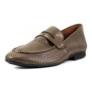 [:ru]Туфли мужские MIDA 13654-567 коричневая кожа[:uk]Туфлі чоловічі MIDA коричневий 16169[:]