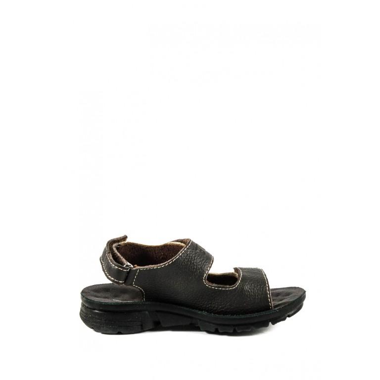 Сандали подростковые TiBet 005-02-32 черно-бежевые