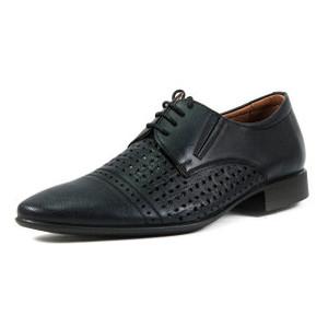 Туфли мужские MIDA 13647-566 черная кожа
