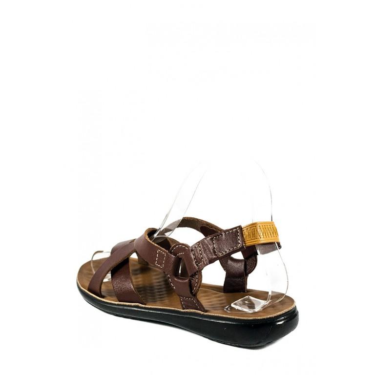 Сандалии женские TiBet 275-03-04 коричневые