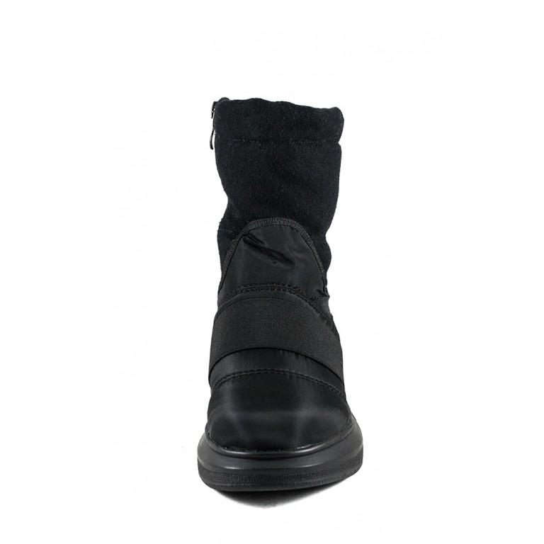 Ботинки зимние женские Lonza 978053-Z949 черные