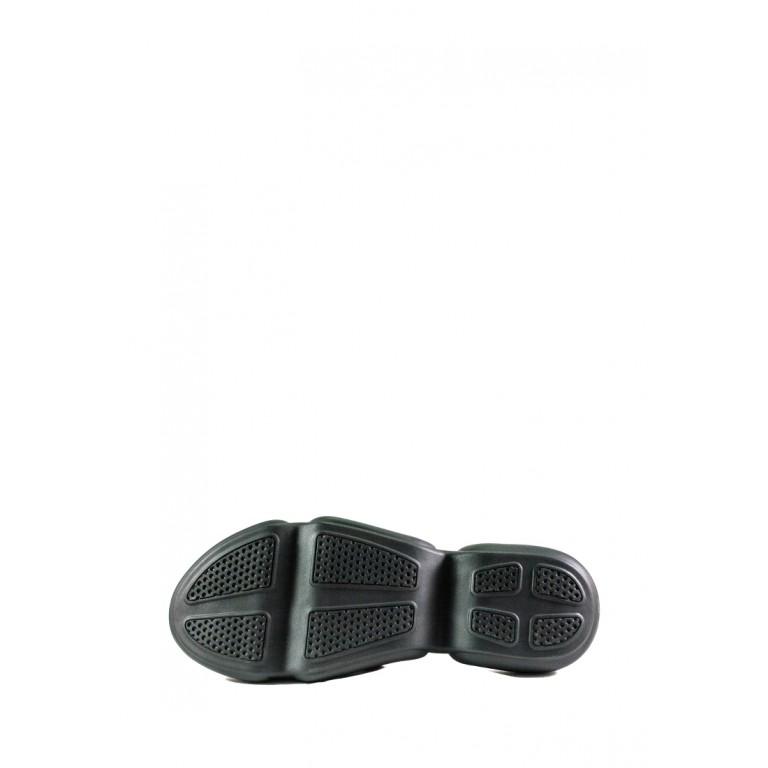 Сандалии женские SND 22609-16 черно-розовые