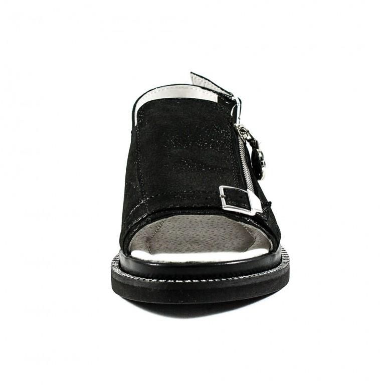 Босоножки женские Camelfo 240 чёрные